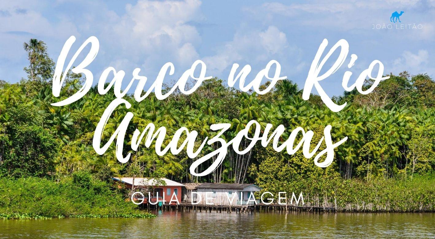 Subir ou descer o Rio Amazonas
