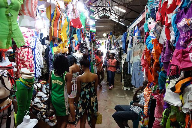 Fotografias do Mercado Central de New Amsterdam, Guiana 4