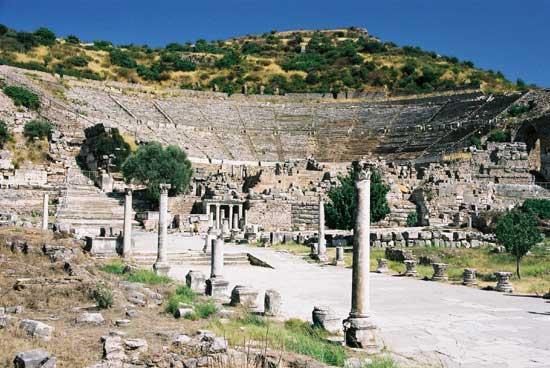Ruínas de Éfeso