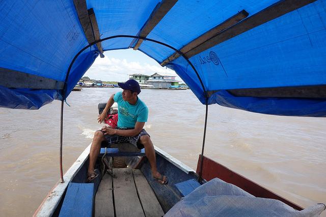 Barco de Tabatinga até Santa Rosa, Brasil até Peru 2