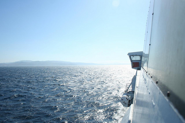 Barco Tarifa até Tanger, Espanha Marrocos 2