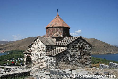 Fotografias do Mosteiro de Sevan na Arménia 9
