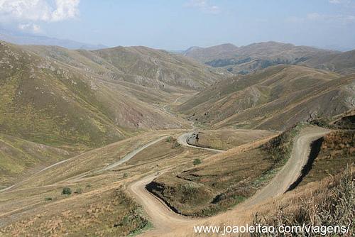Fotos estrada Montanha em Jamili e Dadivank no Nagorno Karabakh 8