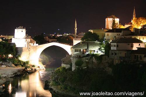 Fotografias de Mostar by night, Bósnia e Herzegovina 5