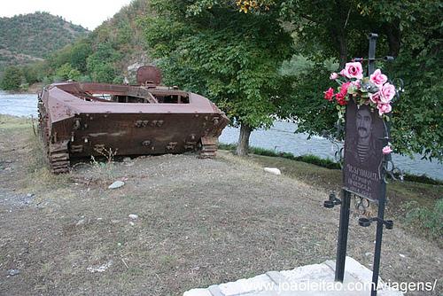 Fotografias Tanques de Guerra no Alto Carabaque 1