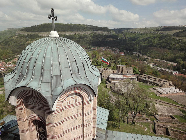 Fotografias Fortaleza Tsarevets em Veliko Tarnovo Bulgária 1