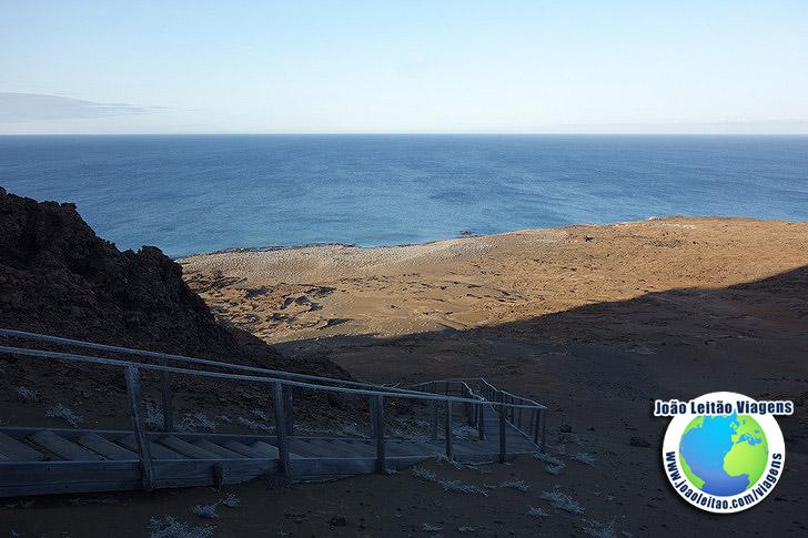 Viagem Ilha de Bartolome Galapagos