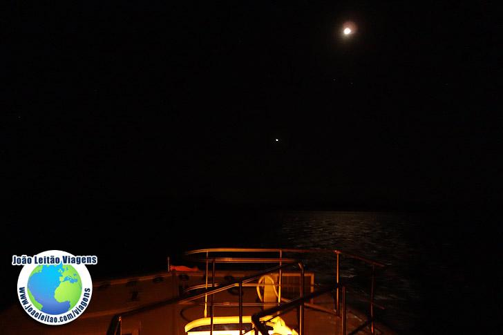 Noite iate Jantar Viagem Galapagos