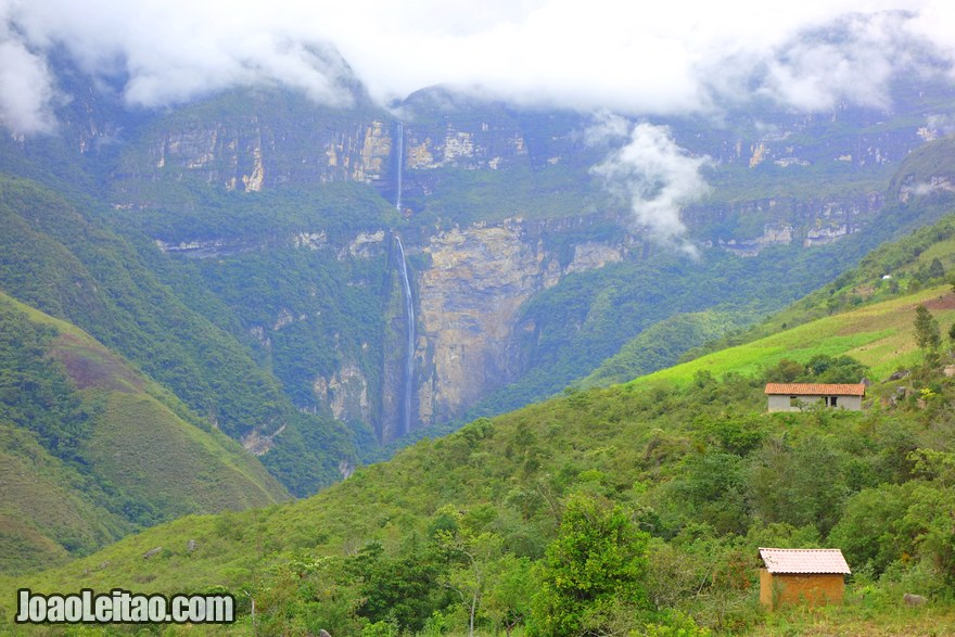 Gocta waterfall Peru