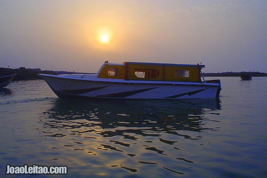 Bandar Abbas no Golfo Pérsico
