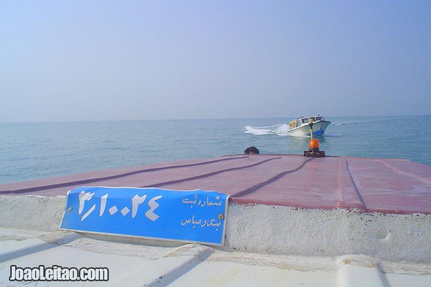 Barco Bandar Abbas até Ilha Qeshm