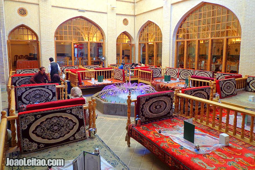 Restaurante Bastani em Isfahan