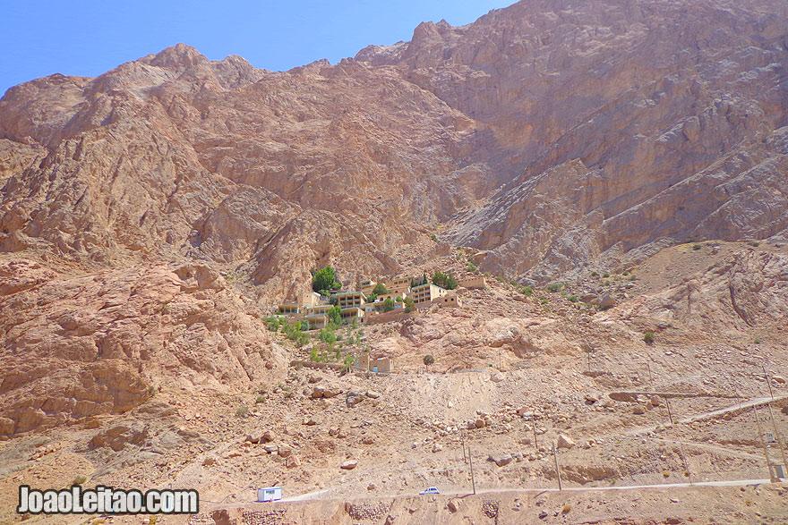 Santuário Zoroastro de Chak Chak no Irão