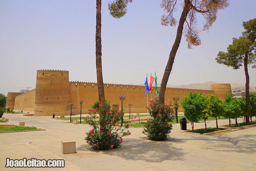 Fortaleza Arg Karim Khan em Shiraz