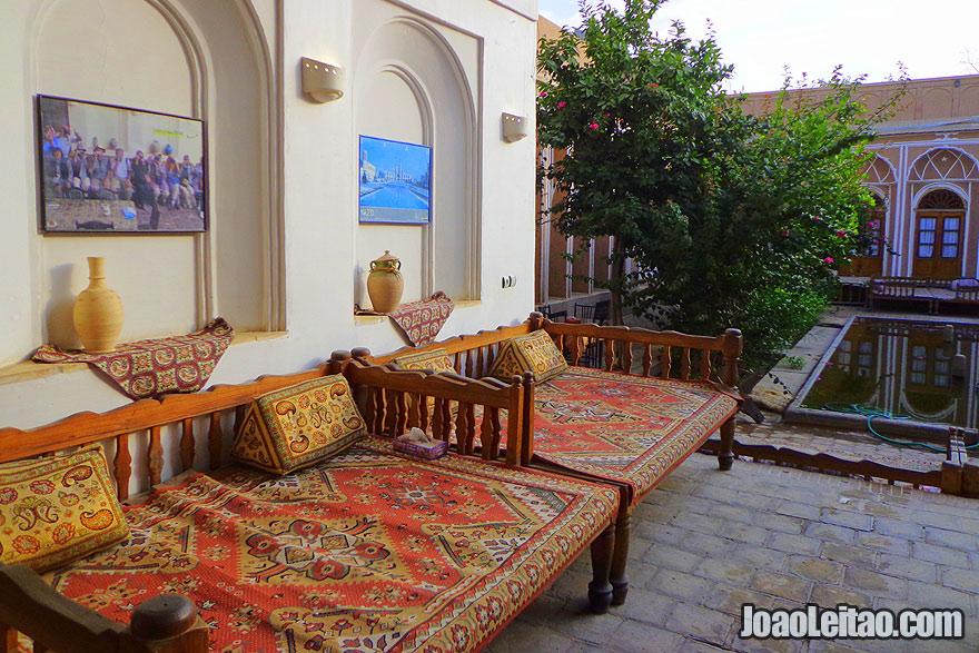 Hotéis tradicionais iranianos