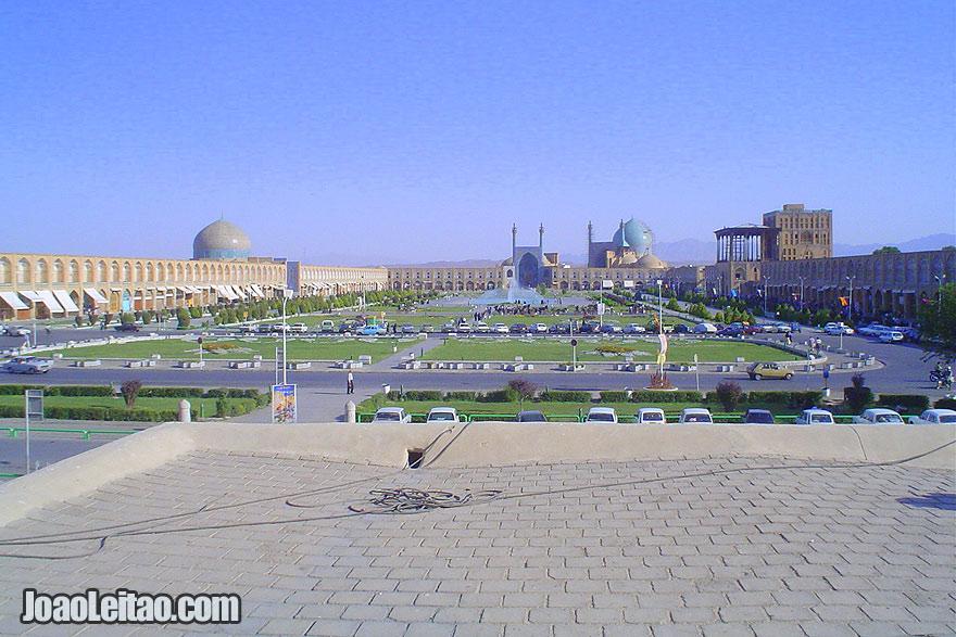 Praça Naqsh-e Jahan em Isfahan