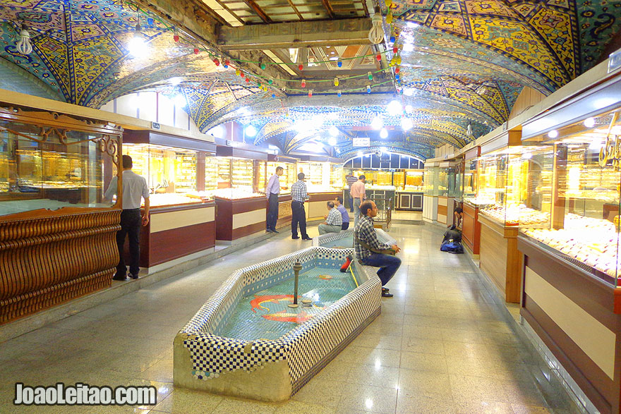 Mercados de Ouro em Teerão