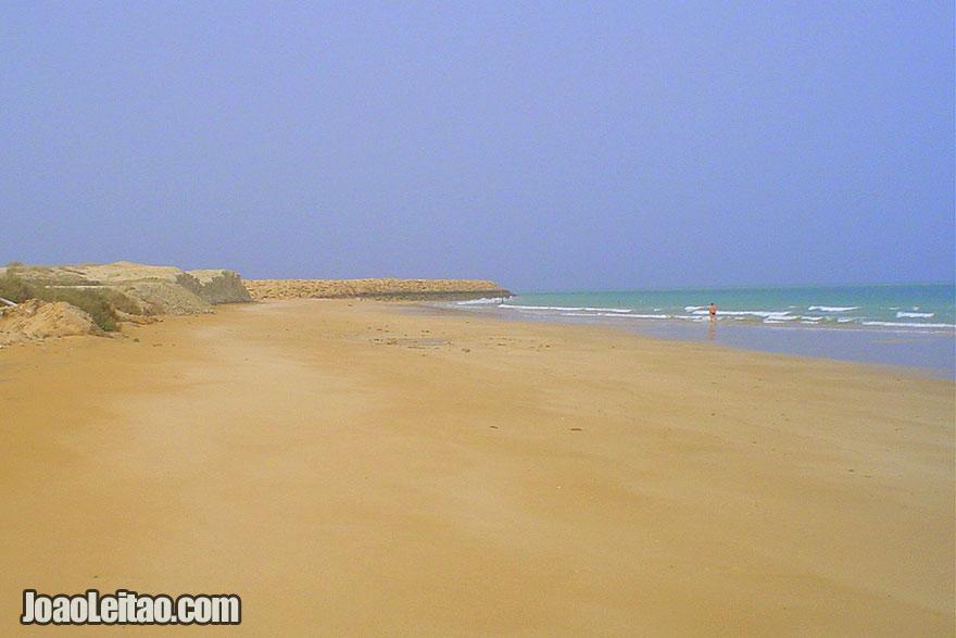 Praias desertas da Ilha Qeshm