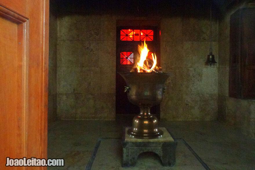 Templo do Fogo em Yazd
