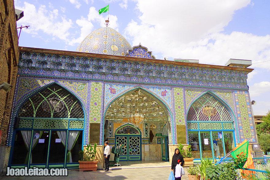Mesquita Zaid em Teerão
