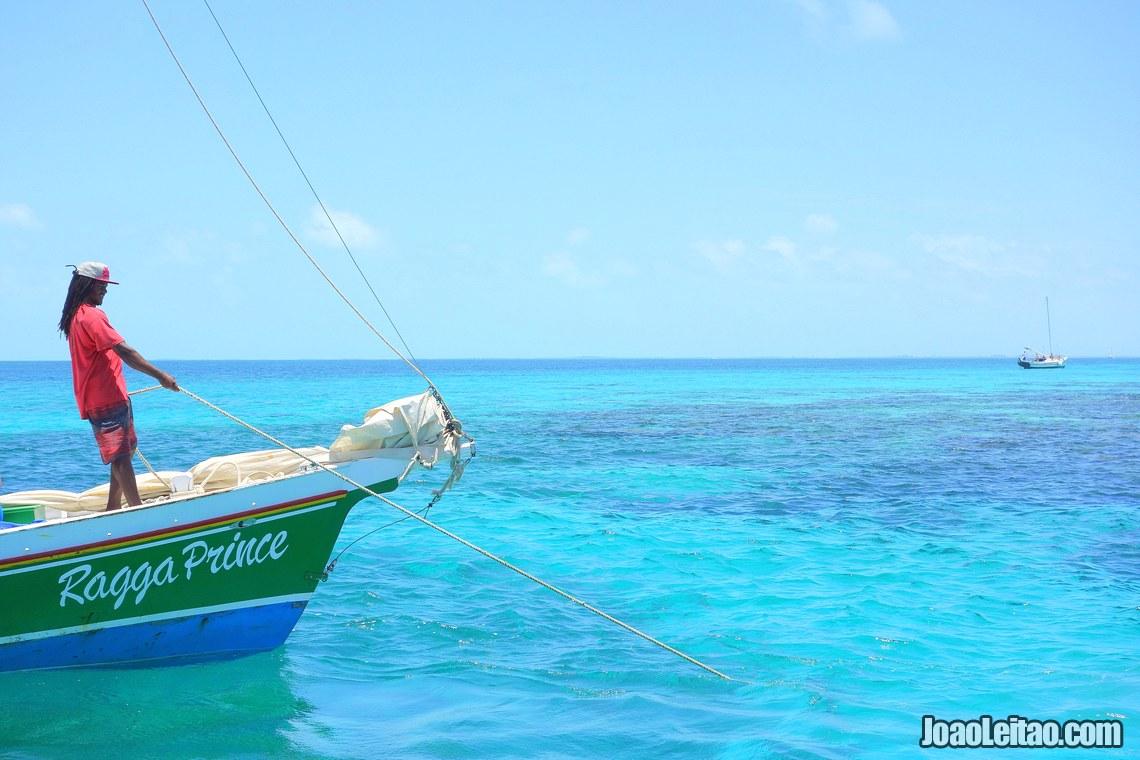 Reserva marinha de Hol Chan no Belize