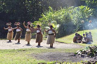 Dança tradicional das Ilhas Fiji - Viagem Fiji