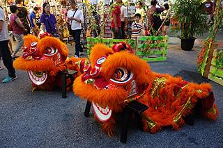 Dragão chinês em Singapura