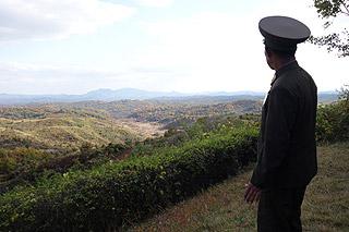 Muro de Betao entre a Coreia do Norte e a Coreia do Sul