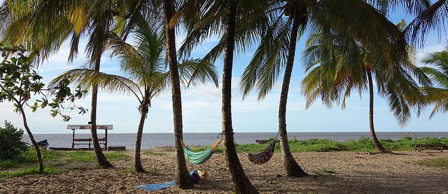 Awala Yalimapo, na Guiana Francesa