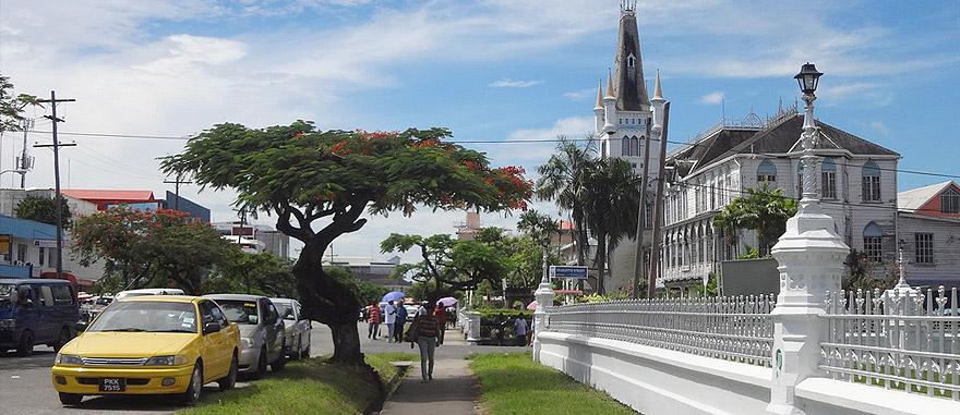 Georgetown na Guiana
