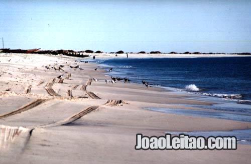 Auto-estrada da Praia na Mauritânia