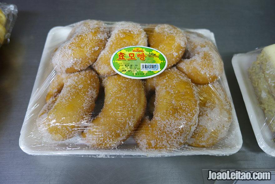 Os donuts da Coreia do Norte