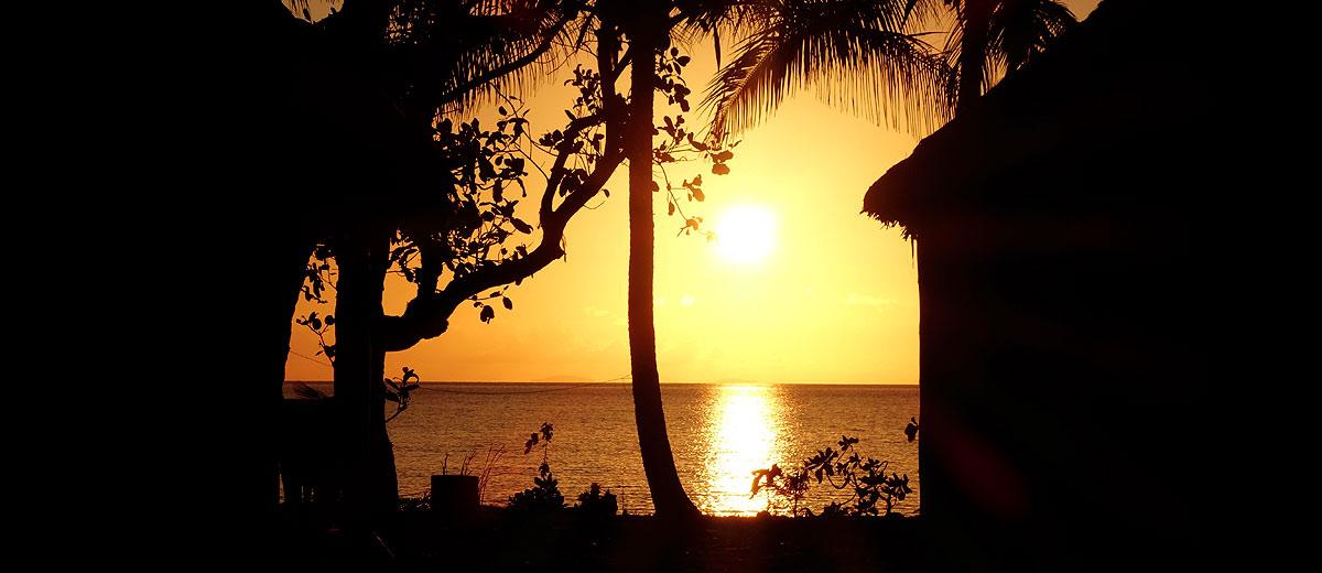 Fotografias da Ilha Leleuvia, Fiji