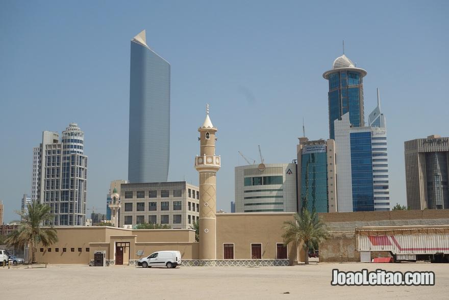 Mesquita Nahedh na Cidade do Kuwait