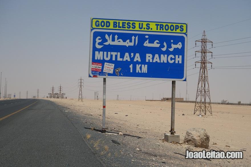 Autoestrada da Morte - Autoestrada 80 (rodovia) no Kuwait