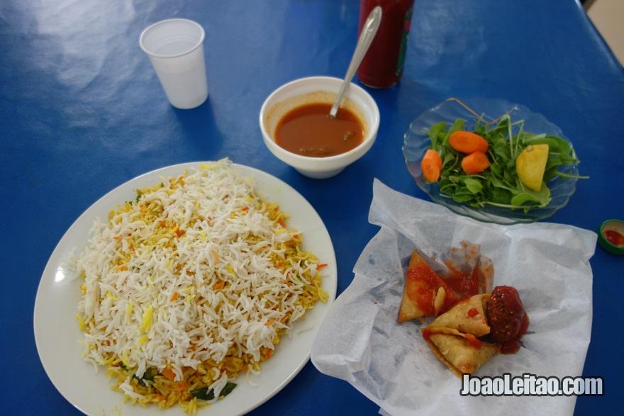 Almoço no Kuwait