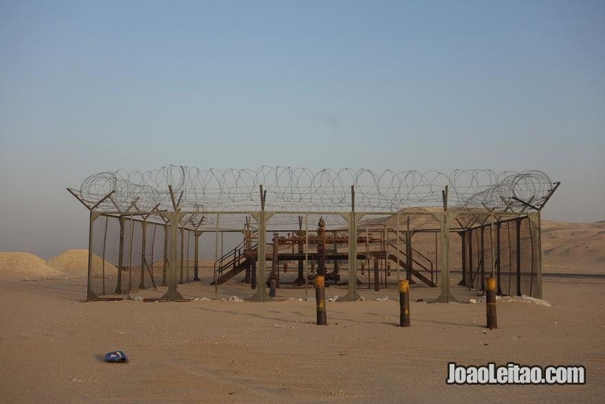 Bombas de petróleo em Al Bahra