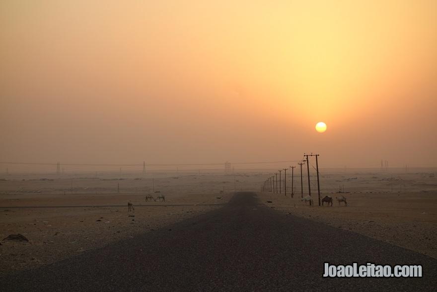Pôr do Sol em Al Mutla