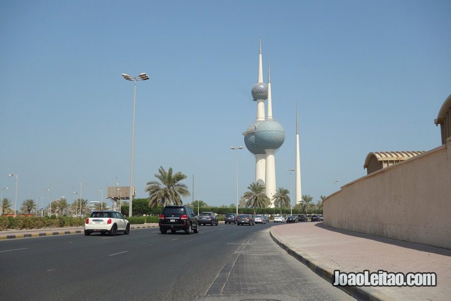 Torres Kuwait, o símbolo nacional