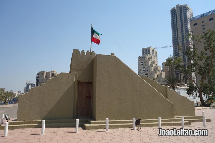Edifício histórico na Cidade do Kuwait