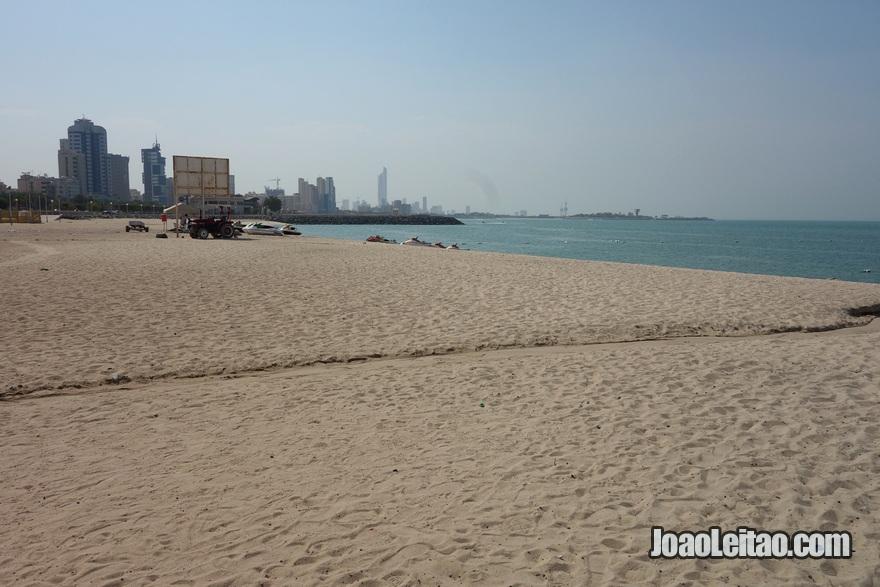 Praia da Cidade do Kuwait