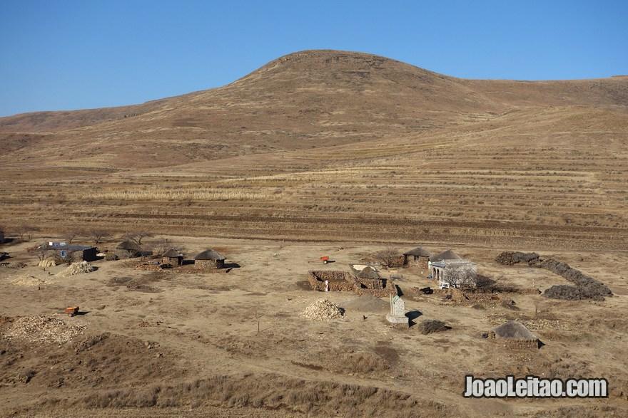 Imagem do Lesoto na África Austral