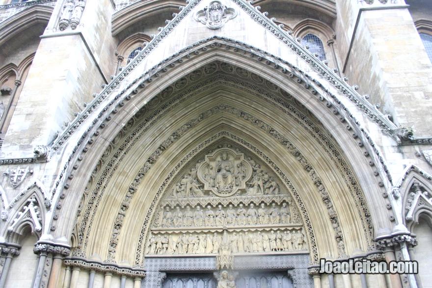 Pórtico da Abadia de Westminster