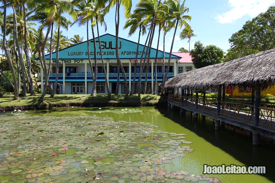 Hostel Arts Village Backpackers em Pacific Harbour nas Ilhas Fiji