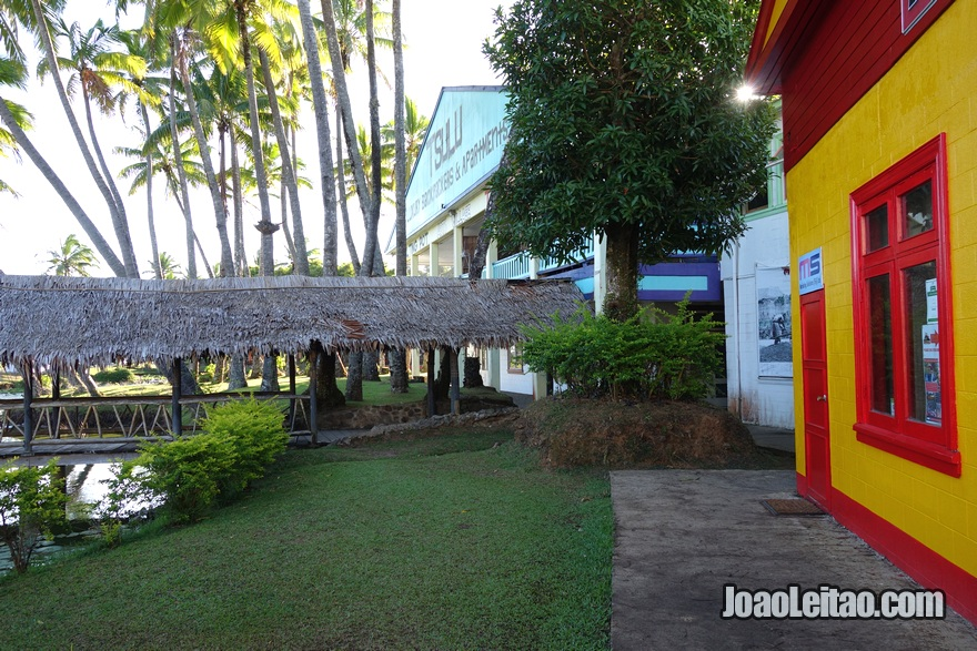 Hostel Arts Village Backpackers em Pacific Harbour nas Ilhas Fiji