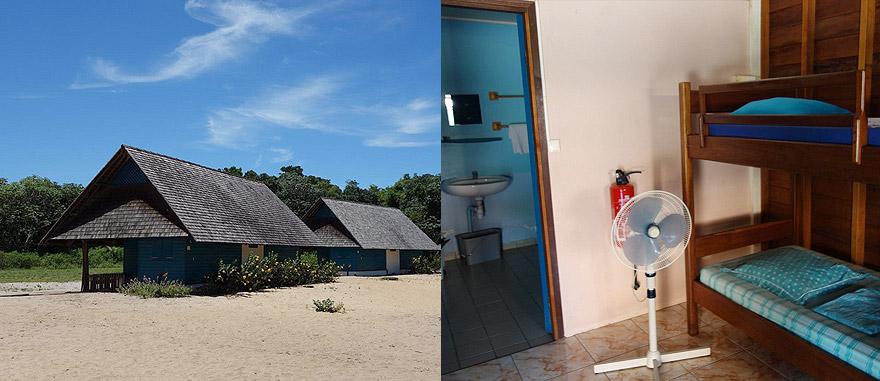 Pousada da Juventude Simili em Awala Yalimapo, Guiana Francesa