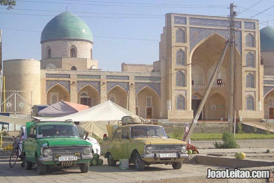 Mesquita Kokand Jami no Uzbequistão