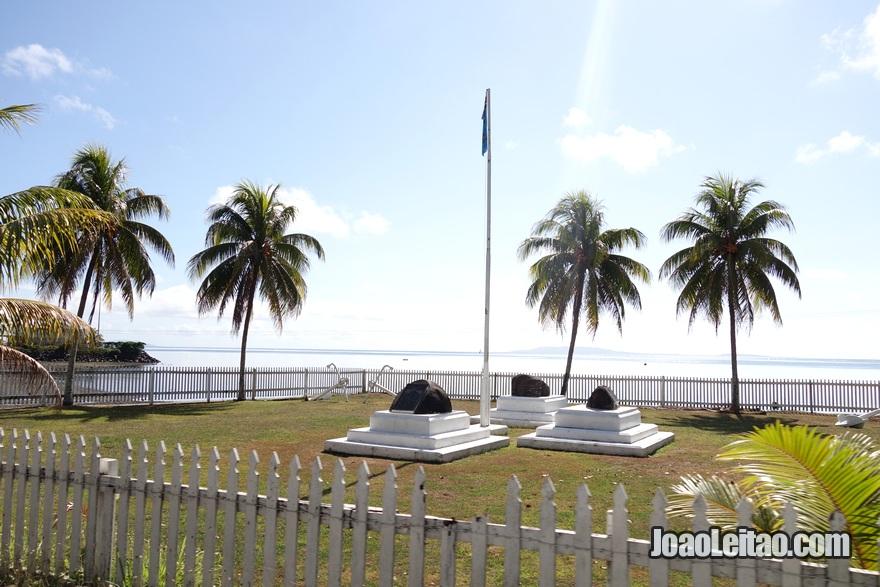 Monumento em Levuka
