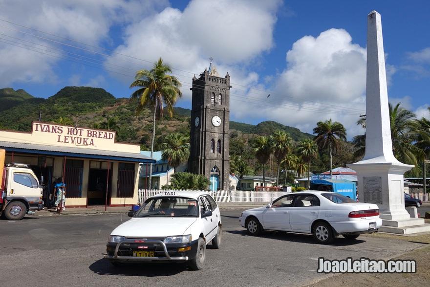 Igreja do Sagrado Coração em Levuka, Ilhas Fiji