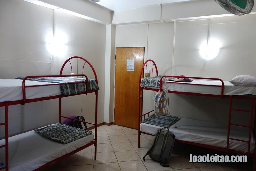 Quarto dormitório do Nadi Downtown Hotel nas Ilhas Fiji